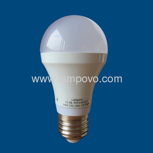 A55 E27 SMD5630 5W LED BULB