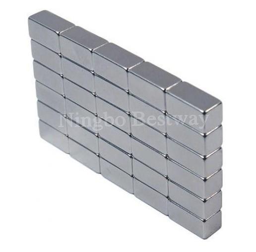 Block permanent magnet