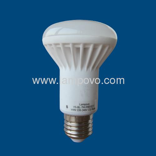R63 E27 SMD5630 7W LED BULB