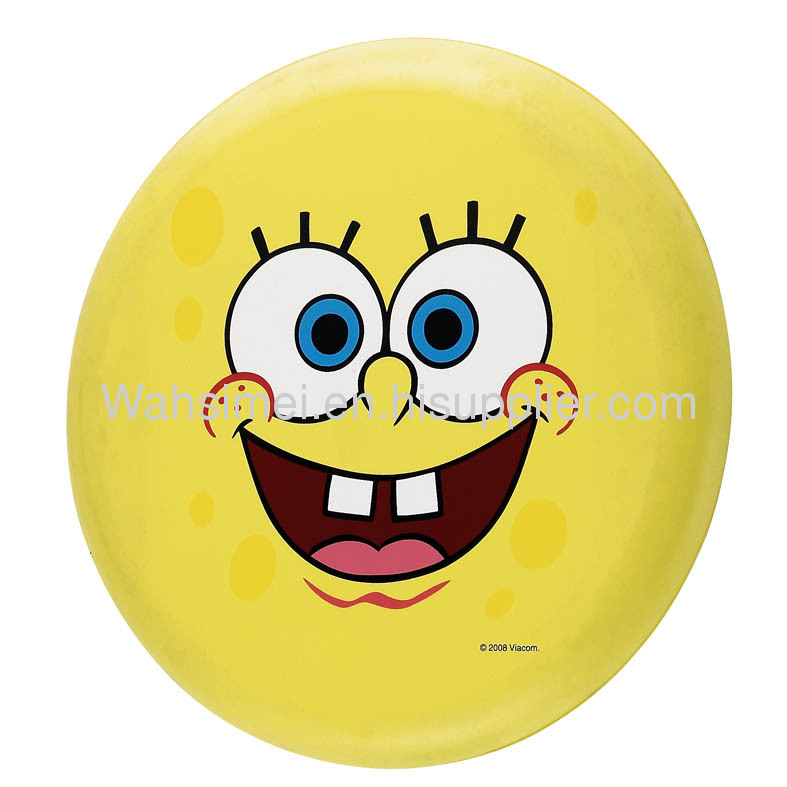Promotion frisbee for gift silicone flying disc