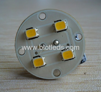 1.2W G4 4SMD led bulb with back pin