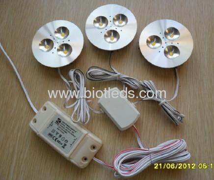 3W 3PCS high powerLED cabinet light