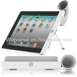 Factory direct sales silicone ipad horn