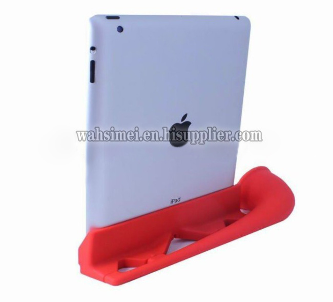 Fashion design Silicon ipad horn