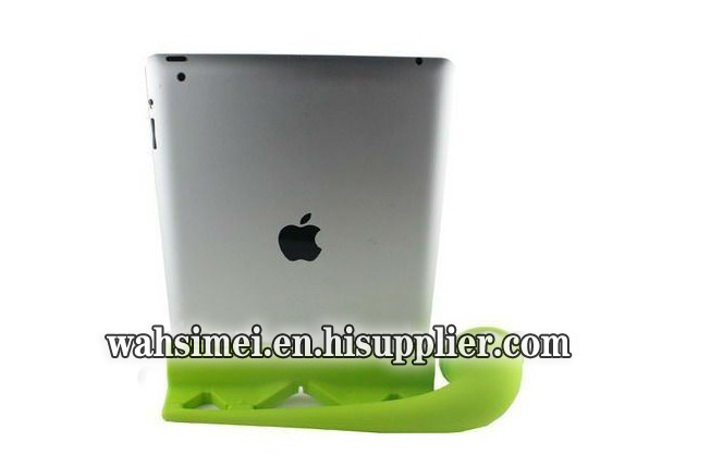 Silicone ipad horn new design stand speakers for ipad