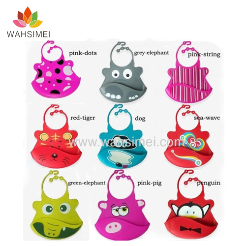 Lovely Silicone Baby Bibs New Arrival In Market