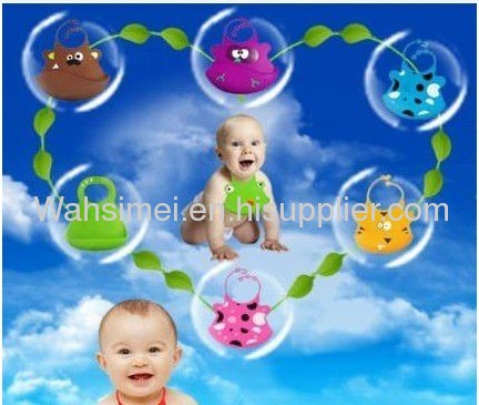 practical 100% Silicone baby bibs