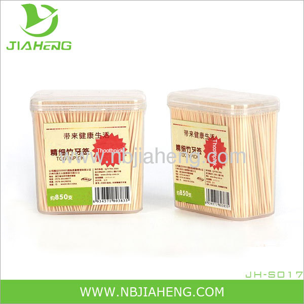 Eco-friendly Bamboo Toothpicks 200 Sticks Per Bottle X 3 bottles