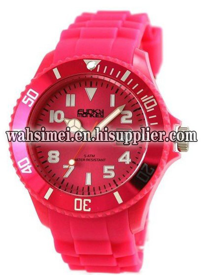Popular silicone watch new arrival Slap band watch