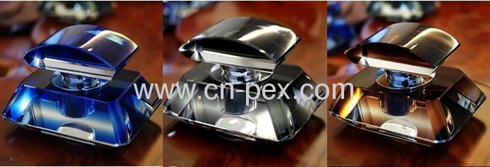 Classic Luxurious car perfume seat crystal bottle automotive gifts promotion