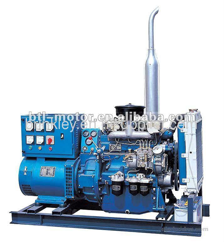 Shangchai open frame diesel generator set 200kw genset