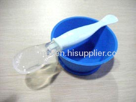 New Fashion And Cute Flexible Silicone Baby Spoons