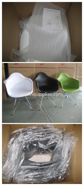 Plastci fiberglass European style dinning chairs