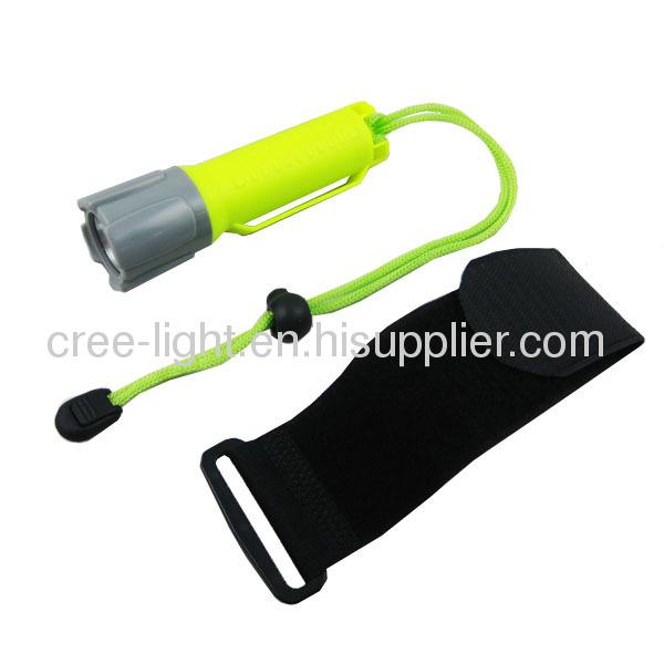 New High PowerDiving LightACK-1056C W/ CREE XML T6 Bulb And Velcro Belt