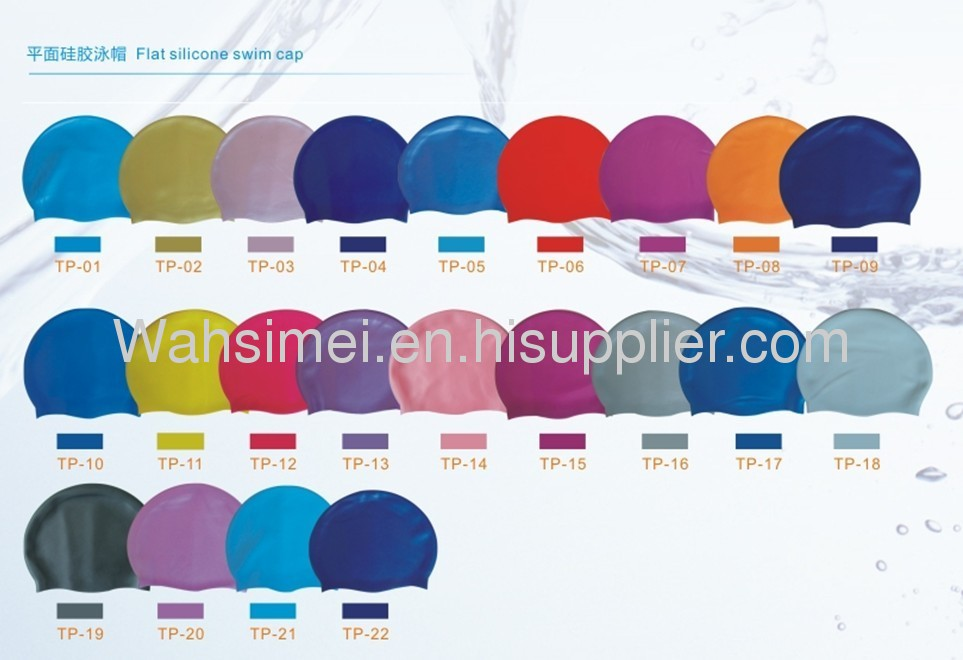 Adults swimming silicone cap with OEM service available