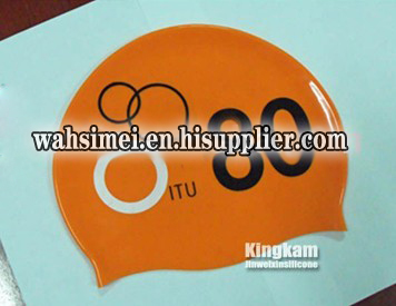 2012 New fashion hot selling swimming silicone cap