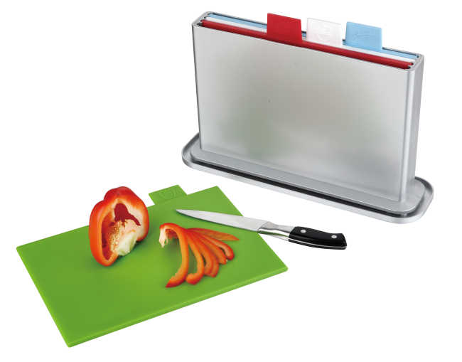 4pcs index chopping board with water pan