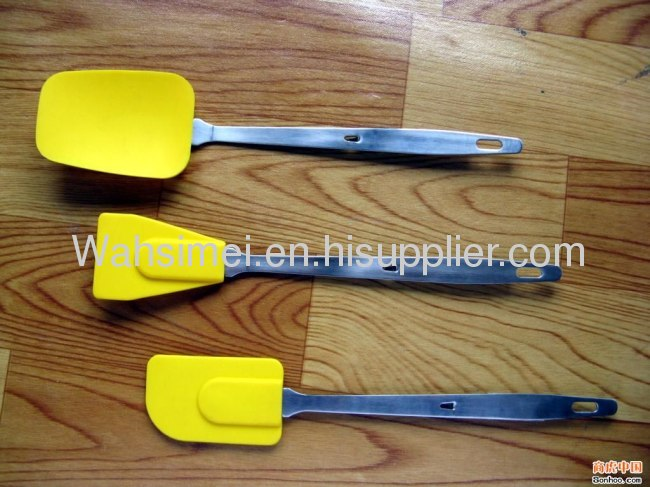 Hot Selling Silicone Shovels With Stainless Steel Handle