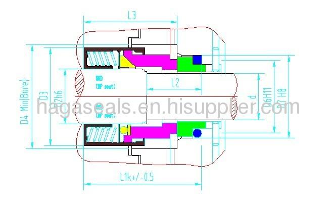 HG Industrial Pump Seal