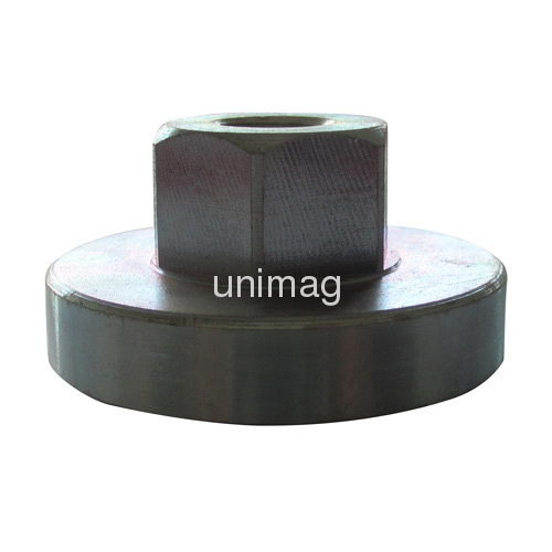 Threaded stud neodymium magnet