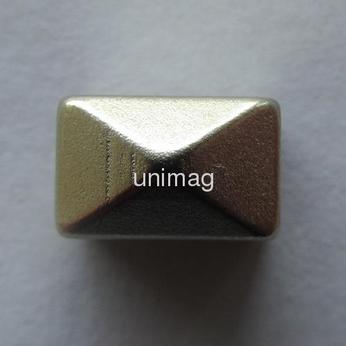 Sintered NdFeB Pyramid magnet