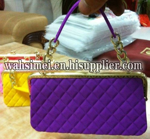 2012 Newest Silicon fashion lady handbag