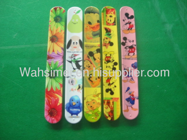 Christmas gift with silicone wristband for promotion,silicone snap bracelet