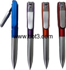 Nail scissor style promotion ballpoint pen