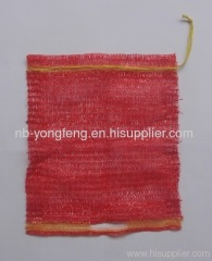 Raschel bags with string and handle