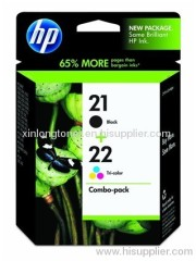 Original Ink Cartridge for HP 21/22