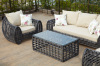 2013new design outdoor garden furniture round wicker sofa set