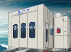 riello burner car spray booth for sale (CE approved)