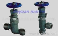Marine Forged Steel Male Thread Stop Valve