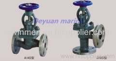 marine flange cast steel boardside stop check valve