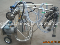 Portable Milking machine for cow