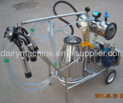 cheap price high quality rotary vane vacuum pump portable cow milker