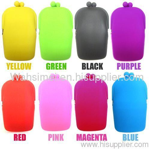 Silicone coin purses for girl women