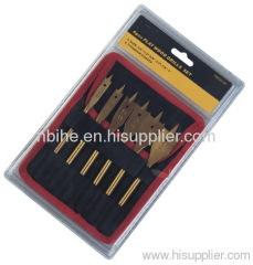 6pcs Daredevil Spade Bit Sets Daredevil 6 Pc Stubby Spade Set