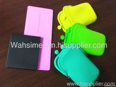 Silicone purse hot sell