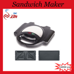 Sandwich Maker With Interchangeable Plates