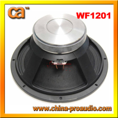 Use for all frequency loudspeakers cast aiuminium