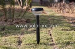 Plastic solar garden lawn light
