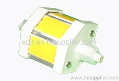 COB LED 78mm R7s LED lamp to replace 78mm halogen 50W