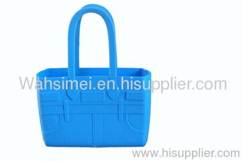 silicone handbag for shoping