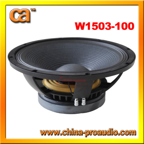 big power 15inch Aluminum frame Subwoofer