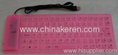 2013 fashion flexible silicone 85 key keyboard