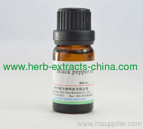 10ml; 1/3 Oz Black Pepper Oil