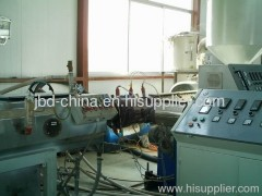 COD pipe extrusion line