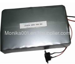 Customized 48V 10Ah IFR26650 16S3P LiFePo4 Battery Packs For E-Bike