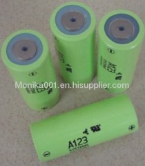 3.3V 3000mAh A123 Super Power LiFePo4 Battery ANR26650